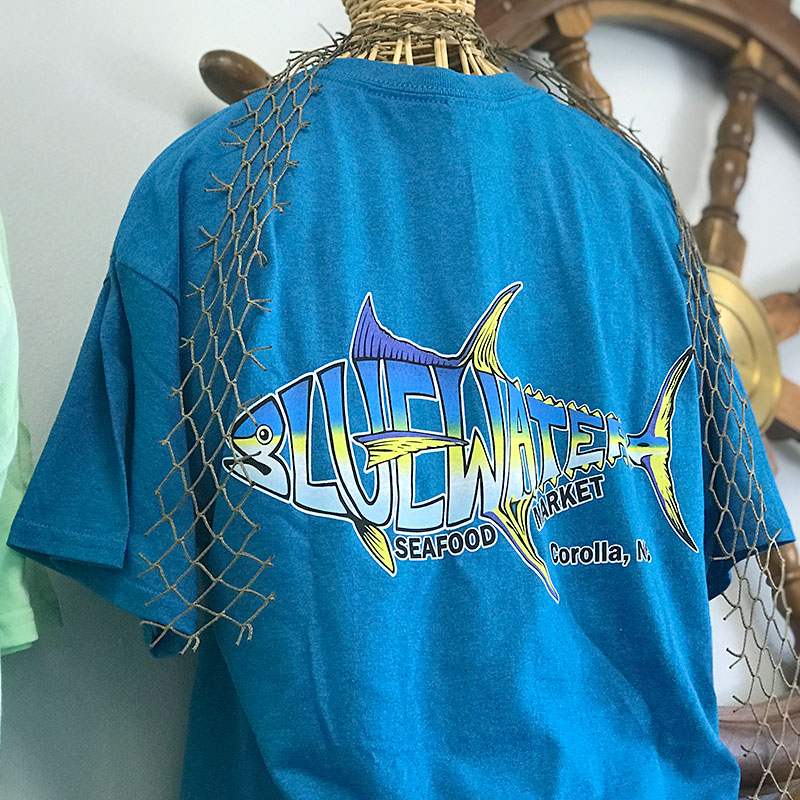Bluewater Seafood -shirts